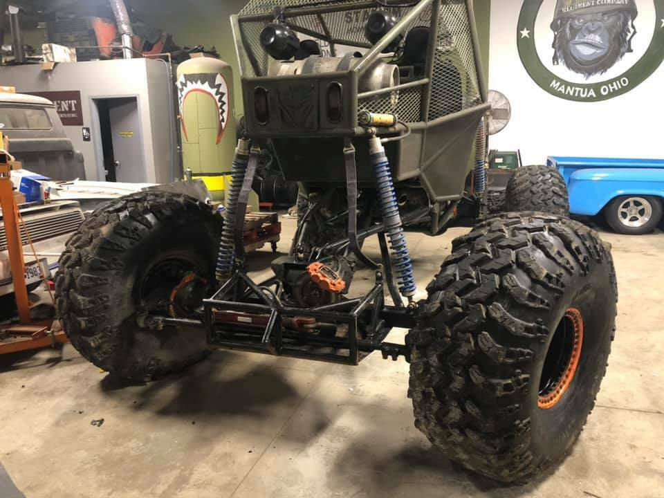 1980 Jeep CJ Rock crawler