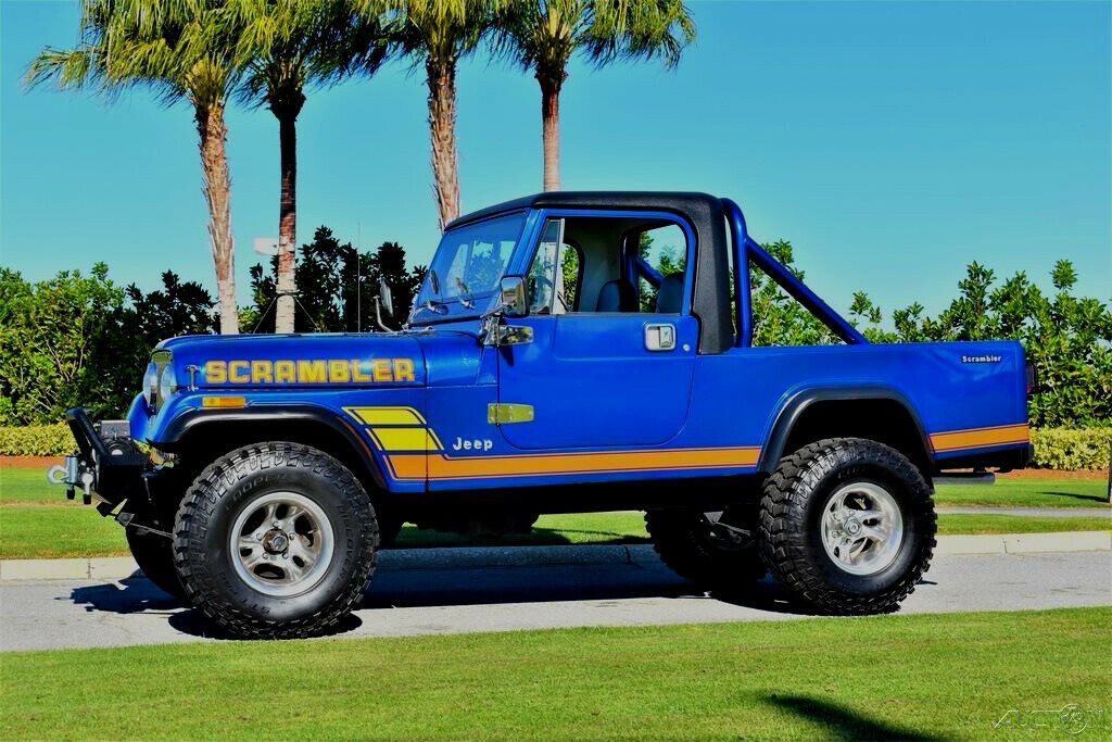 1981 Jeep Scrambler CJ 8 355ci 4 Speed 4×4