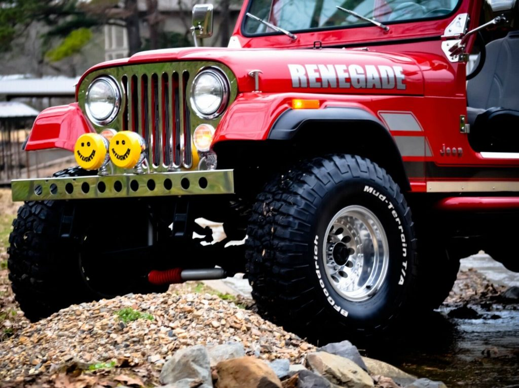 1985 Jeep CJ7 Renegade for sale