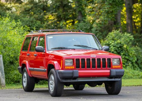 2001 Jeep Cherokee Sport 95K 4WD 4.0L Serviced 4×4 Carfax Southern! for sale