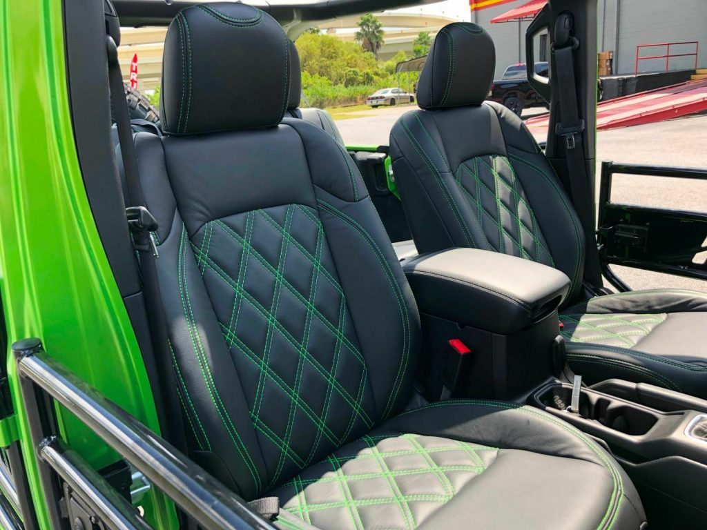 2018 Jeep Wrangler Mojito! Custom Lifted Leather Sahara 38″s