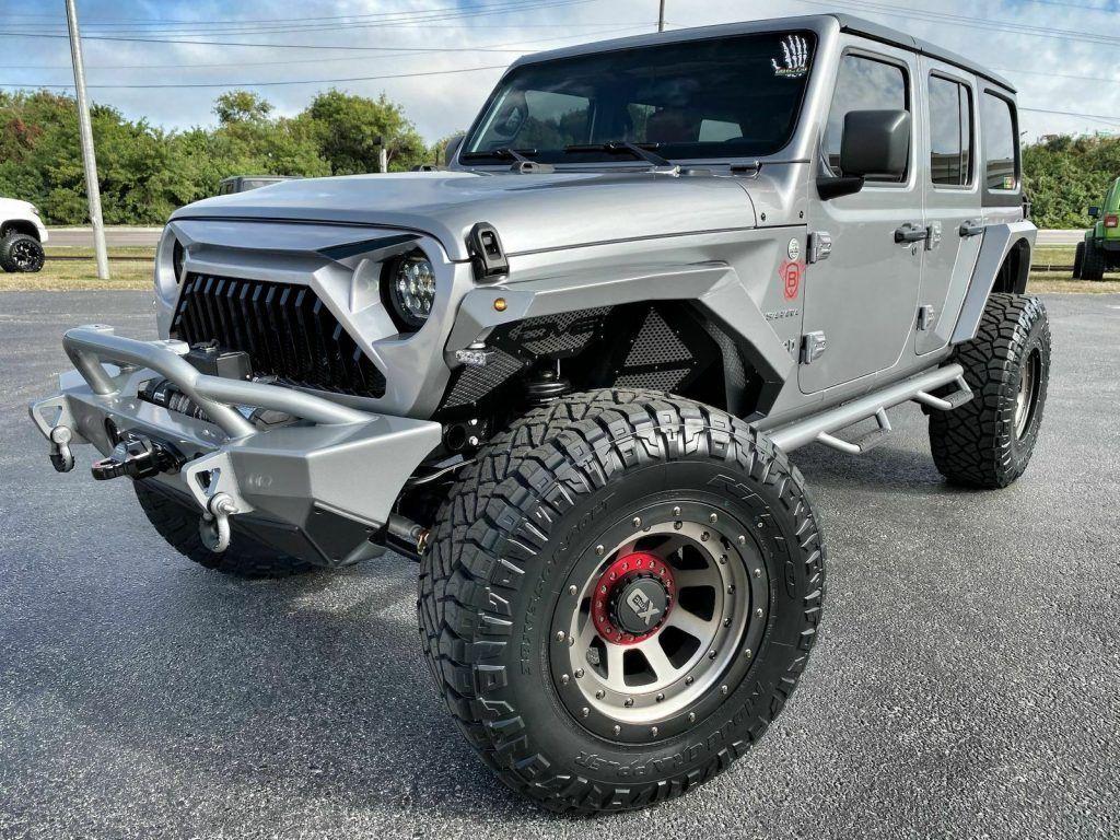 2019 Jeep Wrangler Custom Lifted Leather DV8 OCD N FAB NITTO