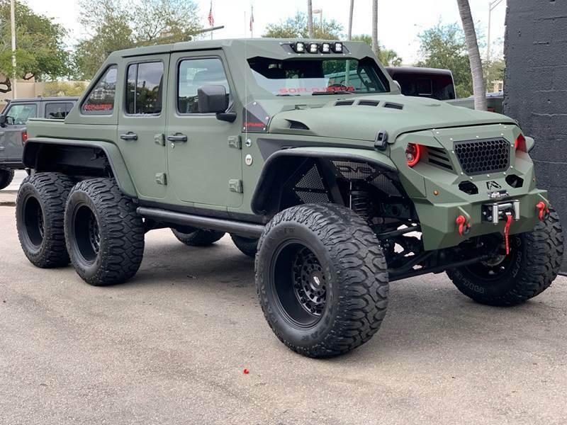 2020 Jeep Wrangler E 6×6 by Soflo Jeeps for sale