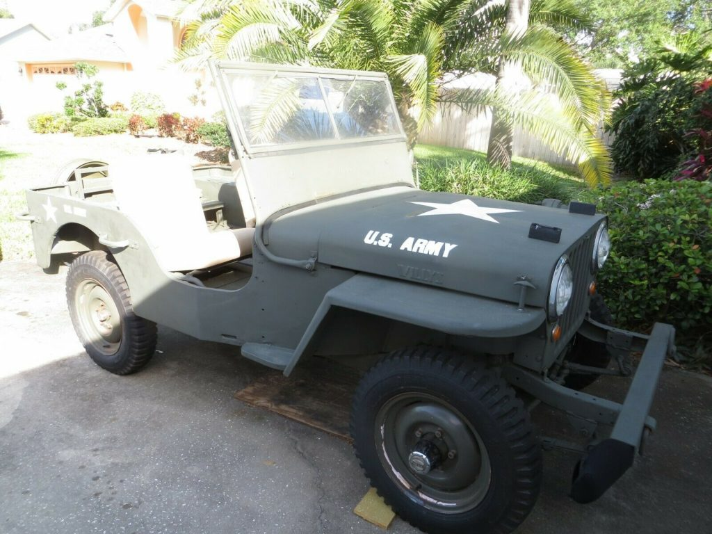 1947 JEEP Willys CJ2