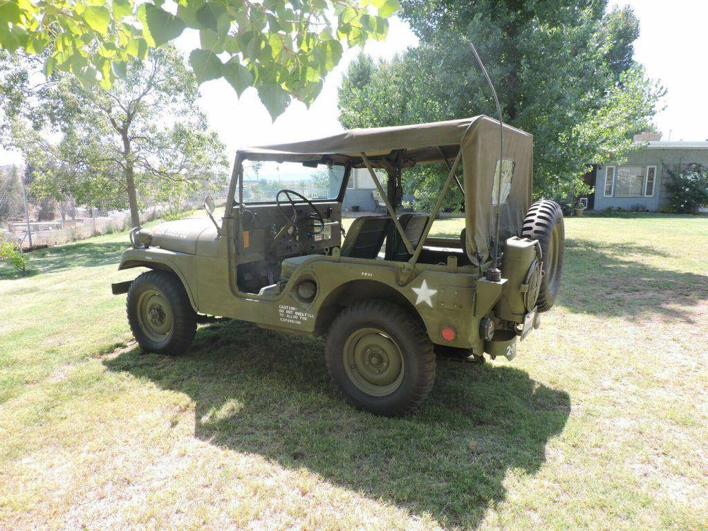 1952 Jeep CJ military M38A1