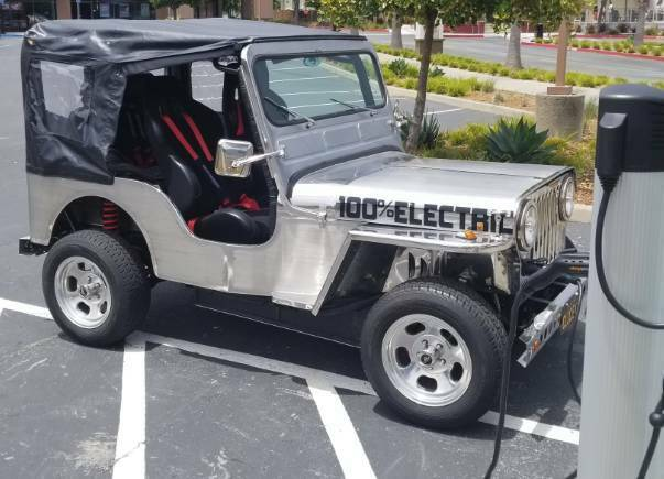 1952 Jeep Willys EV Electric vehicle