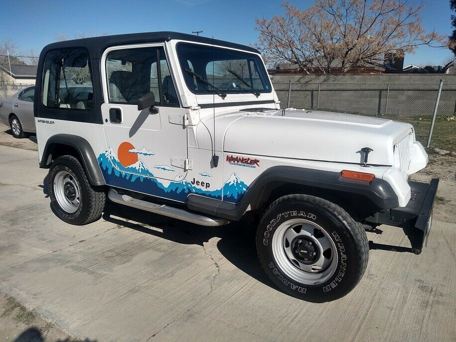 1992 Jeep Wrangler Sport YJ for sale