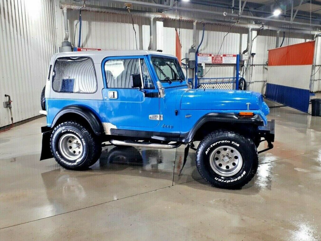 1992 Jeep Wrangler YJ Islander for sale