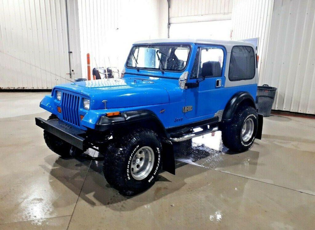 1992 Jeep Wrangler YJ Islander
