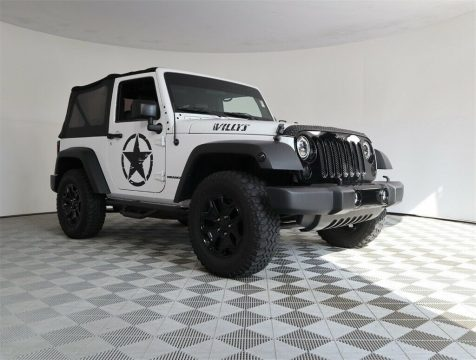 2016 Jeep Wrangler Willys Wheeler for sale