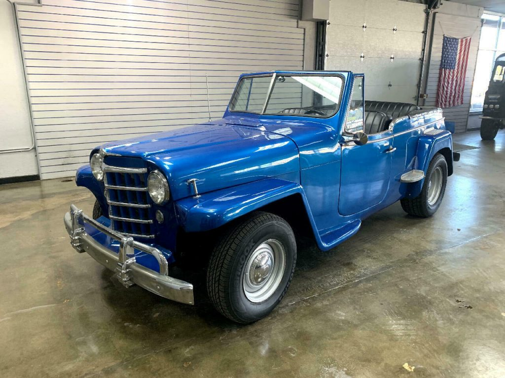 1950 Jeep Willys Jeepster V8 Automati for sale