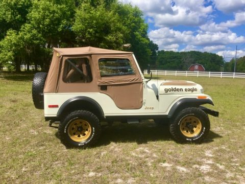 1979 Jeep CJ5 Golden Eagle for sale
