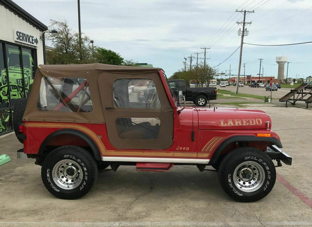 1986 Jeep CJ7 Laredo