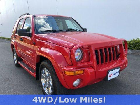 2004 Jeep Liberty Limited for sale