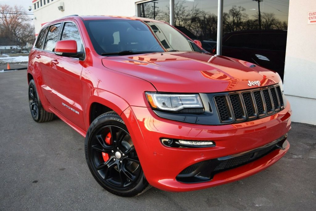 2014 Jeep Grand Cherokee SRT 8 6.4L Carbon TRIM for sale