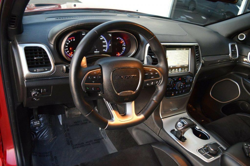 2014 Jeep Grand Cherokee SRT 8 6.4L Carbon TRIM