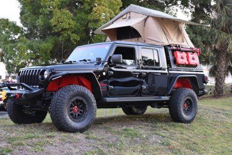 2020 Jeep Gladiator *delta 1* Overlander BUILD for sale