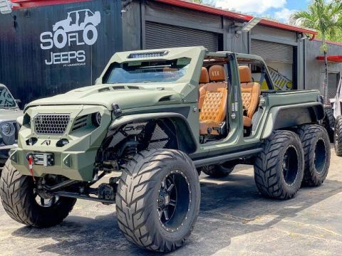 2020 Jeep Wrangler Turbo Diesel 6×6 for sale