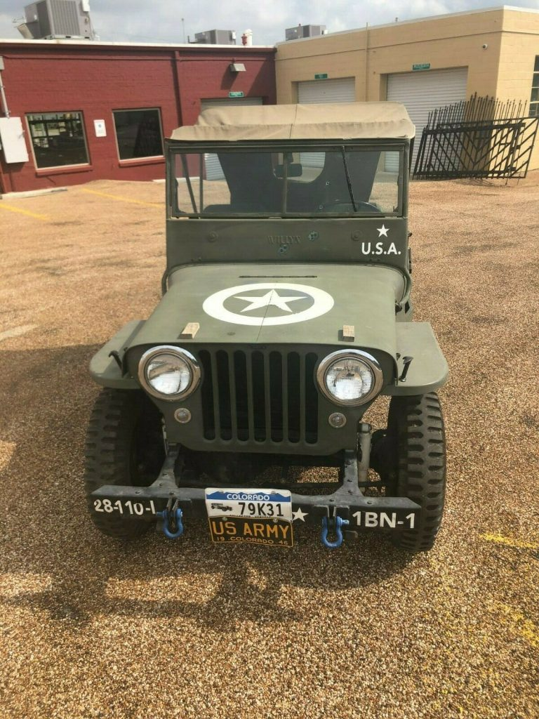 1946 Jeep CJ Military for sale