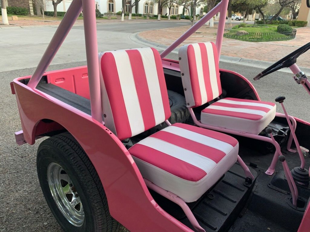 1952 Willys PINK Jeep!