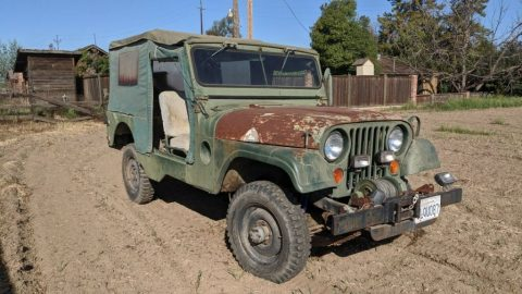 1962 Jeep Willys M170 for sale