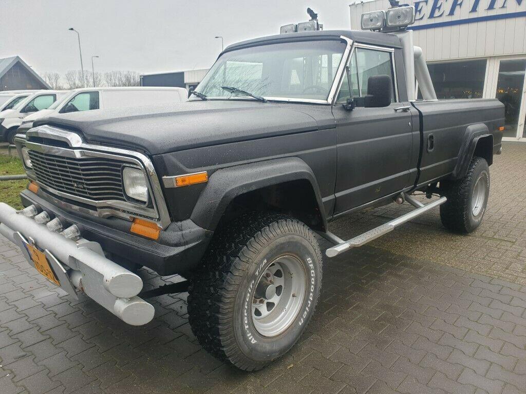 1981 Jeep J20 Gladiator V8 Diesel for sale
