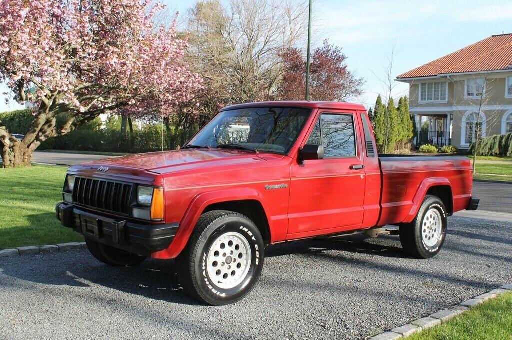 1990 Jeep Comanche Eliminator