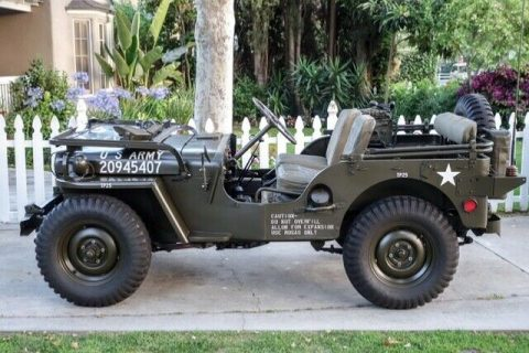1951 Willys Jeep Perfectly Restored **very RARE!** for sale