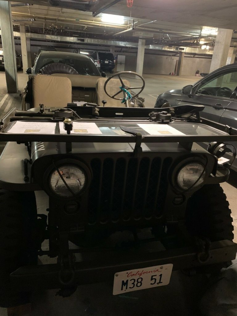 1951 Willys Jeep Perfectly Restored **very RARE!**