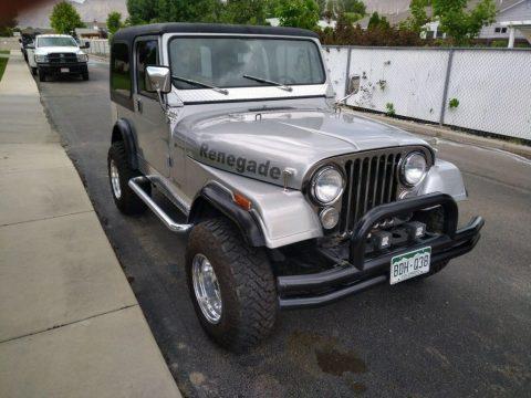1977 Jeep CJ 7 Renegade for sale