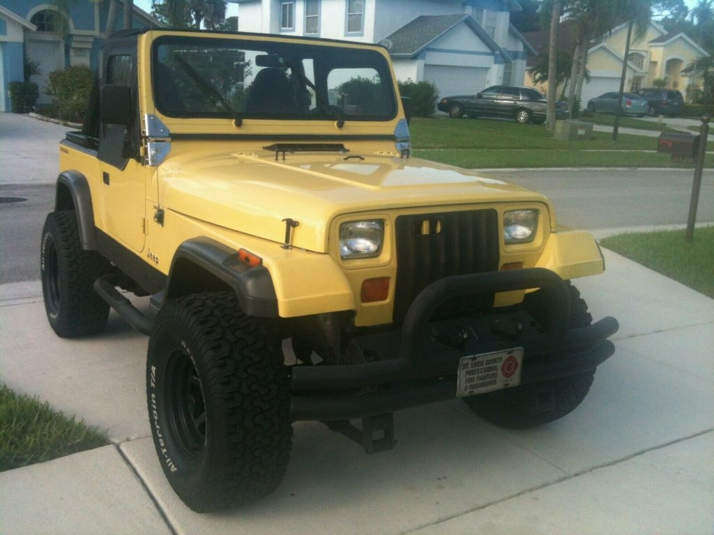 1989 Jeep Wrangler YJ Islander for sale