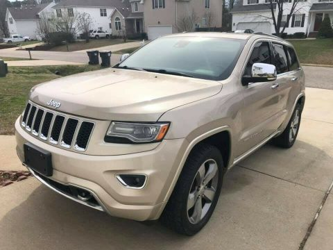 2014 Jeep Grand Cherokee OVERLAND for sale