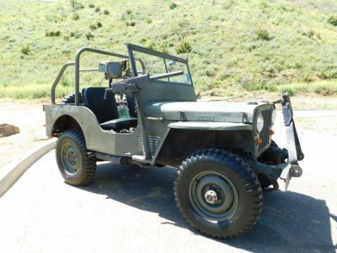 1946 Willys CJ2A ARMY for sale
