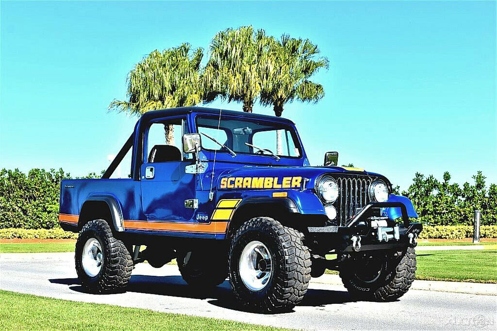 1981 Jeep Scrambler CJ 8 355ci 4 Speed 4×4 for sale
