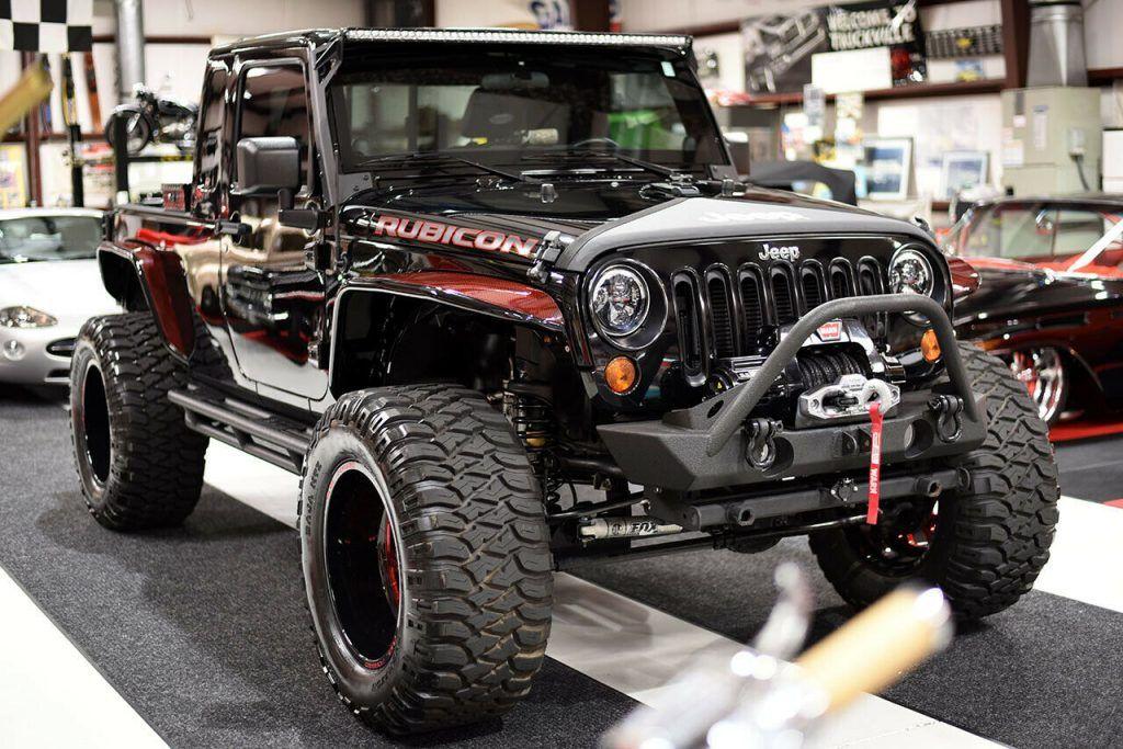2012 Jeep Wrangler Wrangler Unlimited JK8 Lifted Fully CUSTOM