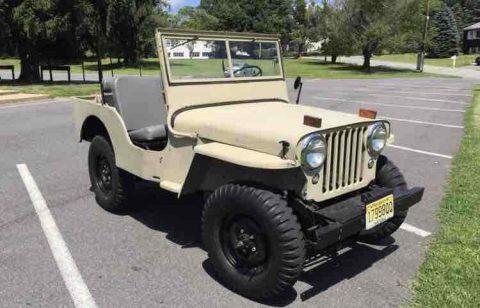 1946 Jeep CJ2A for sale