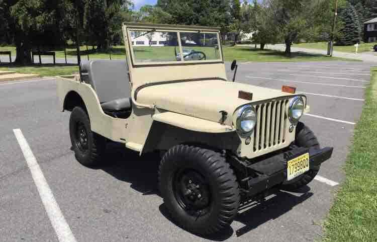 1946 Jeep CJ2A for sale