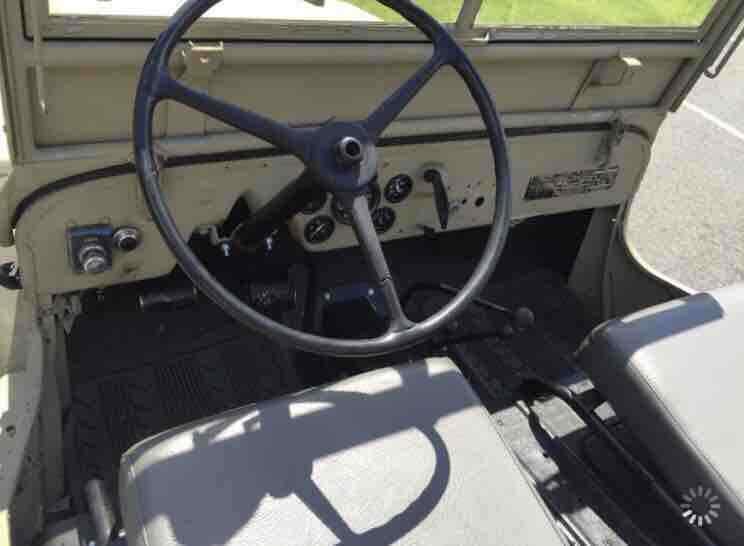 1946 Jeep CJ2A