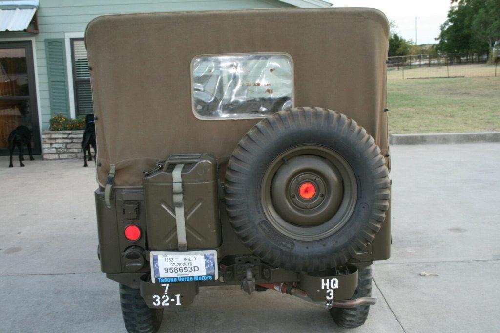 1952 Jeep M38 A1