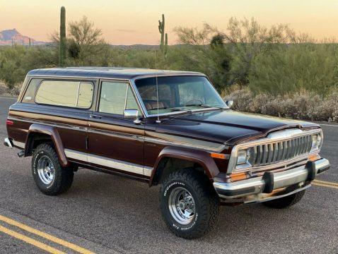 1982 Jeep Cherokee Laredo for sale