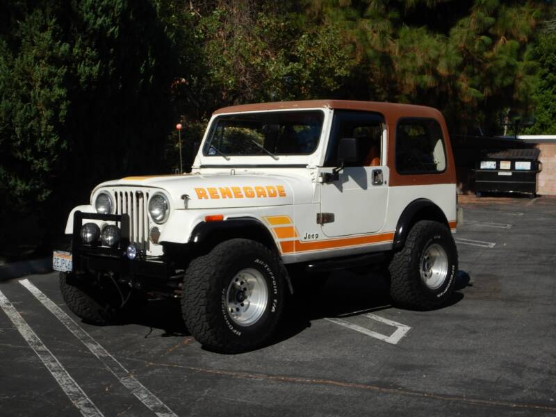 1984 Jeep CJ Base 2dr 4WD SUV for sale