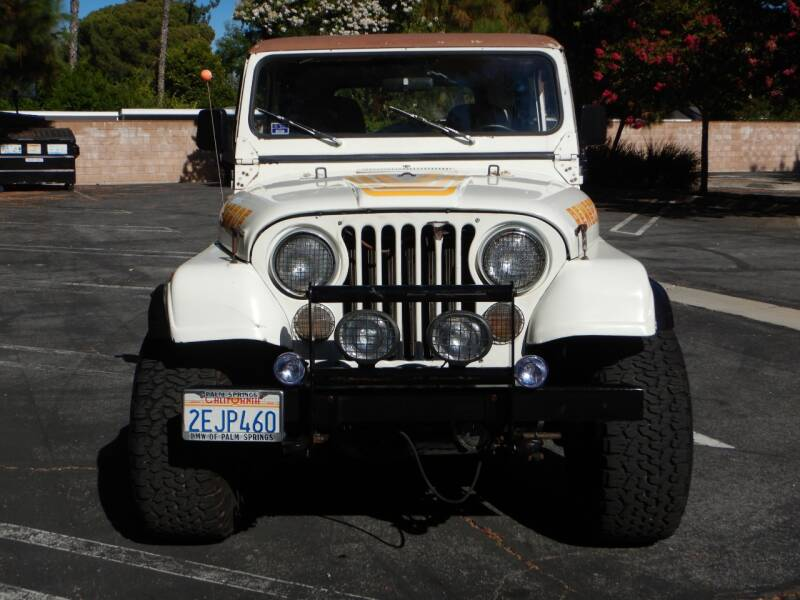 1984 Jeep CJ Base 2dr 4WD SUV