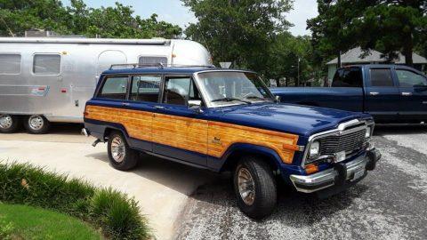 1985 Jeep Wagoneer Grand Wagoneer for sale