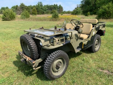 WW2 Jeep Willys MB British Airborne for sale