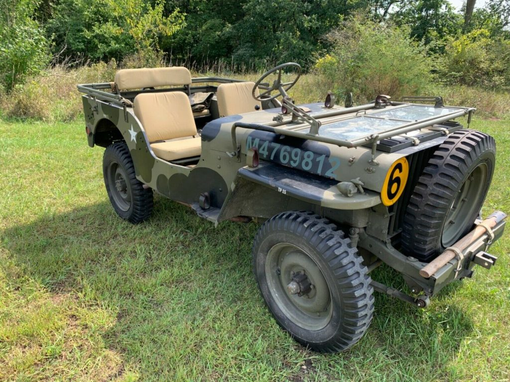 WW2 Jeep Willys MB British Airborne