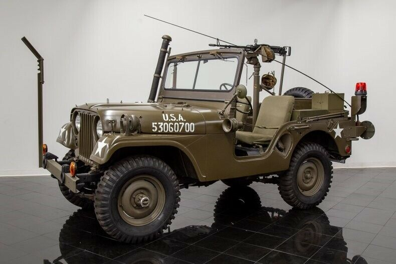 1954 Willys M38a1 4×4 Jeep