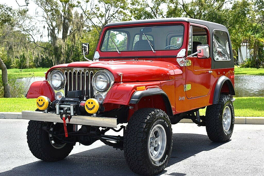 1978 Jeep CJ 304ci Auto Power Steering & Brakes