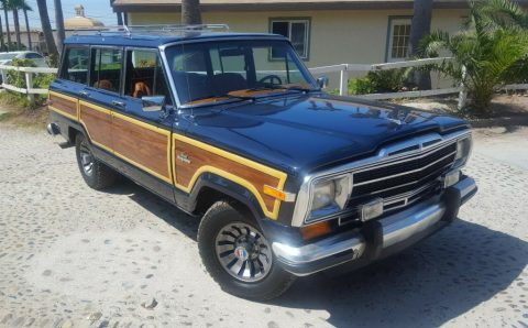 1984 jeep Grand wagoneer for sale