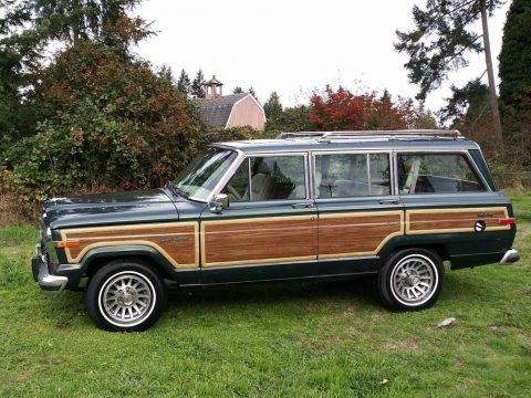 1991 Jeep Wagoneer 1  of 150  very rare for sale