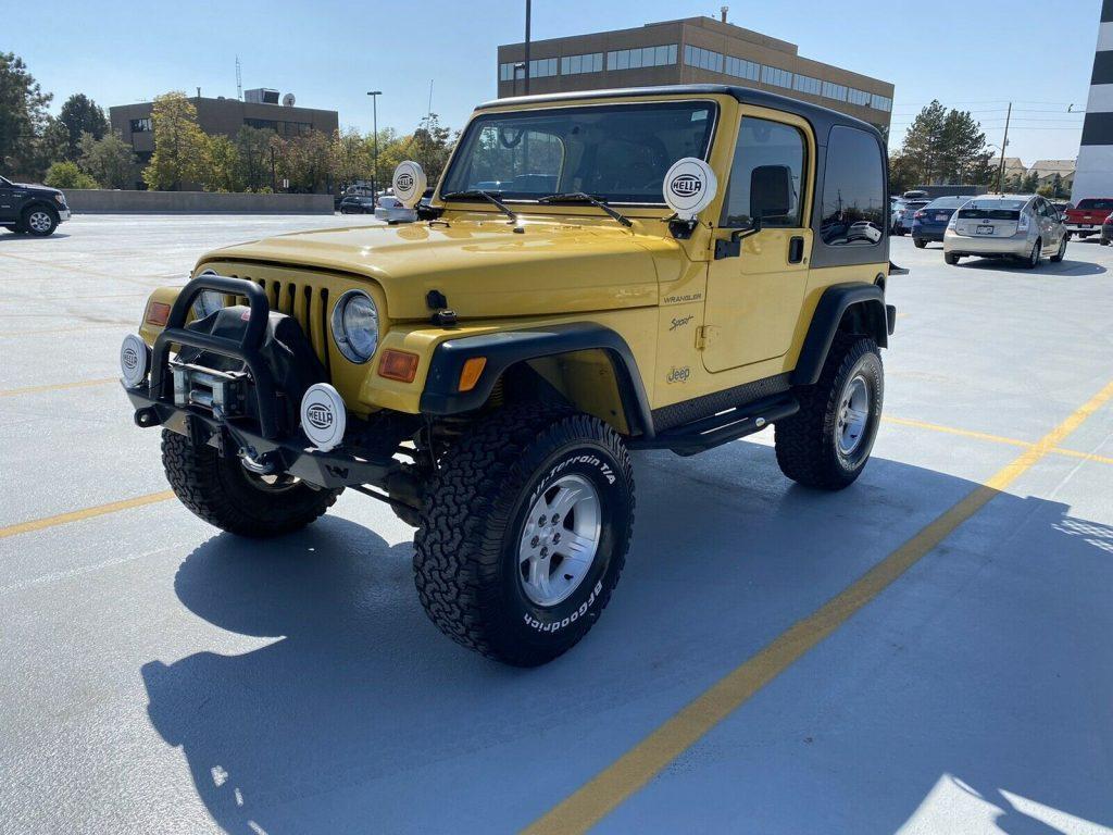 2002 Jeep Wrangler SPORT for sale